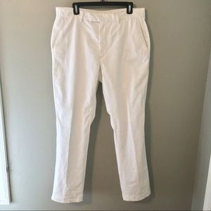 New Claiborne straight fit linen trousers